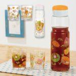 リラックマベーカリー 麦茶ポット&グラスセット オレンジ