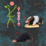 「ファンタスティック・ビーストと黒い魔法使いの誕生」 魔法動物ミニフィギュア_A