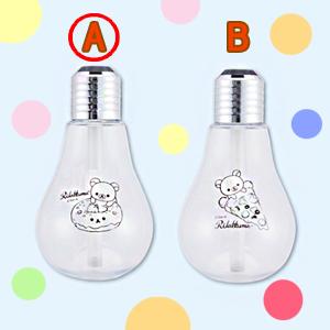 リラックマ リラックマデリ LEDライト付きUSB電球型加湿器-A
