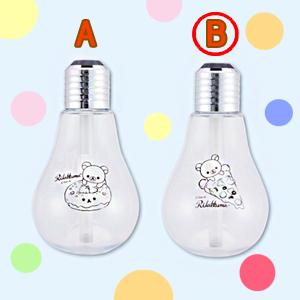 リラックマ リラックマデリ LEDライト付きUSB電球型加湿器-B