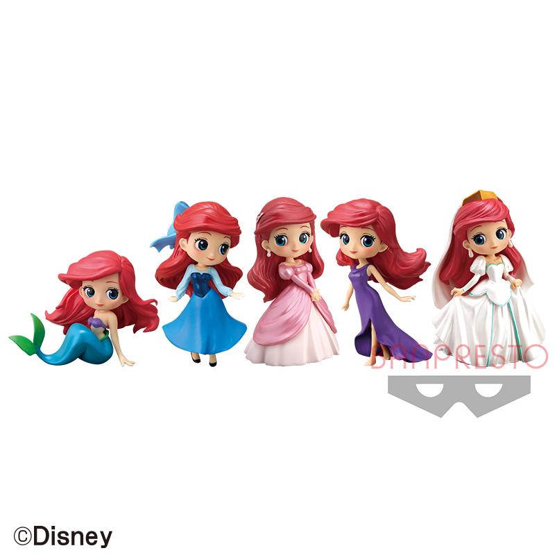 Disney-Character-Q-posket-petit-Story-of-The-Little-Mermaid-