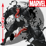 "MARVEL COMICS SPMフィギュア""Venom"""