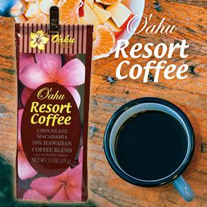 オアフリゾートコーヒーチョコレートマカダミア
