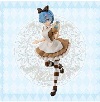 Re:ゼロから始める異世界生活 SSSフィギュア-レム in WonderlandアンティークVer.-