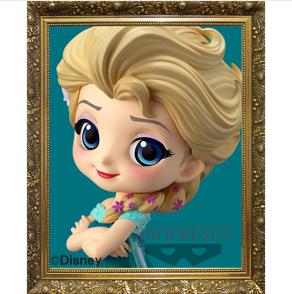 Q posket Disney Character -Elsa Frozen Fever Design-