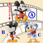 Disney Characters Mickey Shorts Collection vol.1 A【ミッキーマウス】