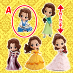Disney Characters Q posket petit Story of Belle A