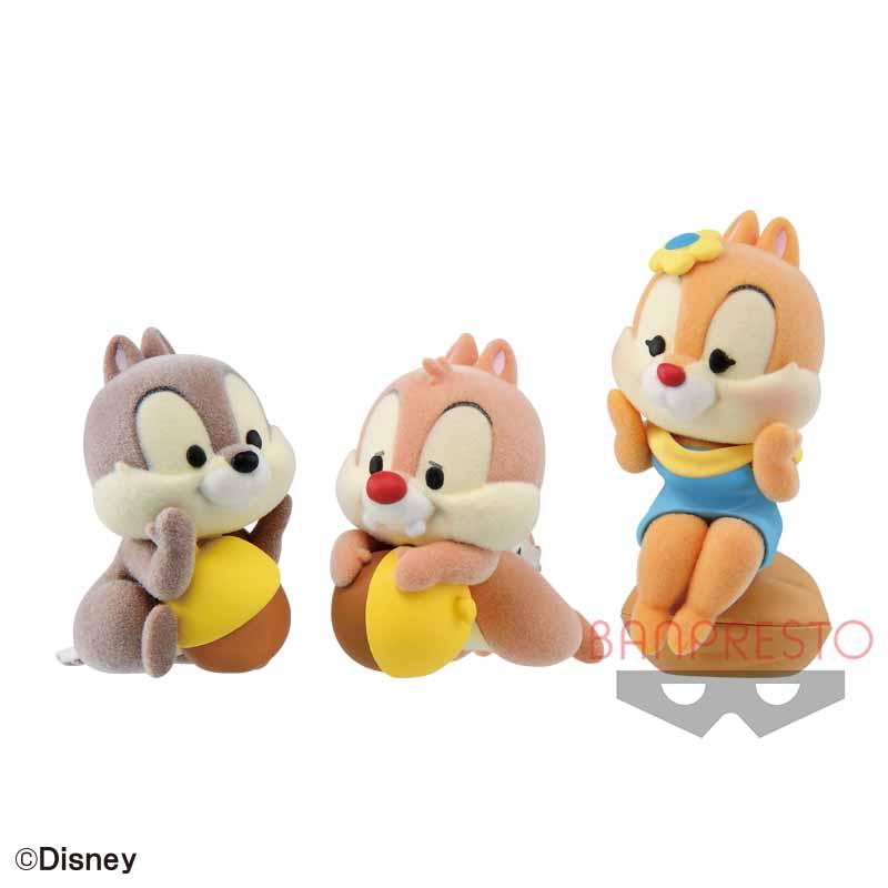 ディズニーキャラクターズ Cutte! Fluffy Puffy~チップとデール&クラリス~
