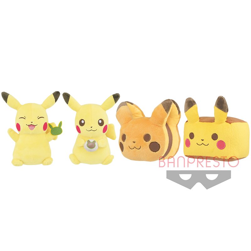 Pokémon Tea Party ぬいぐるみ~和菓子コレクション~