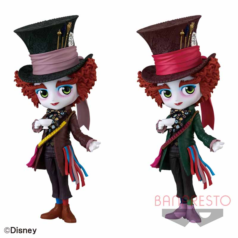 Q posket Disney Characters -Mad Hatter-ALiCE IN WONDERLaND