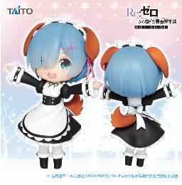 Re:ゼロから始める異世界生活 Doll Crystal レムフィギュア~わんこver.~