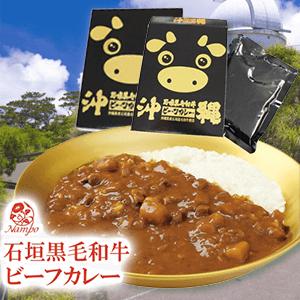 【カレーフェア】石垣黒毛和牛ビーフカレー180g×2個セット