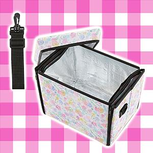 すみっコぐらし-座れる保冷バッグ-Part2-ピンク