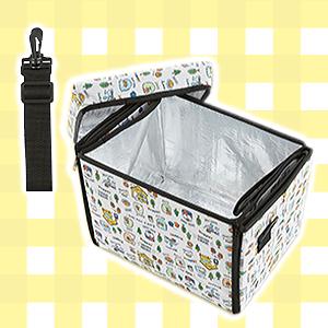 すみっコぐらし-座れる保冷バッグ-Part2-ホワイト